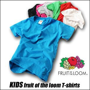 キッズ  Tシャツ 半袖 コットン100% FRUIT OF...