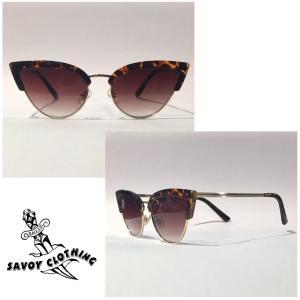NB-SG034 Devil Fish Cat Eye Sunglasses★ SAVOY CLOTHING★サングラス|beatswing
