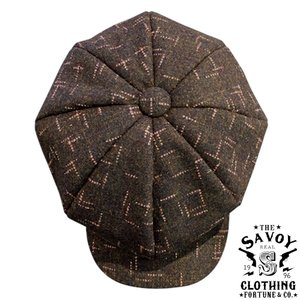 Casquette SVY-HT110 KhakiGray x Pink★SAVOY CLOTHING★ハット|beatswing