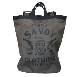 20th Logo Large Daypack SVY-BG050★SAVOY CLOTHING★バッグ beatswing