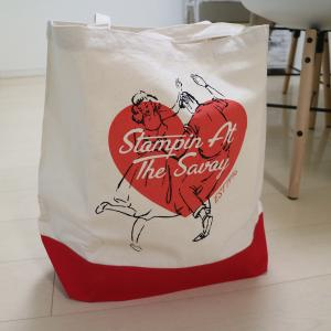 Stompin'Heart Tote Bag NTxRED★SAVOY CLOTHING★バッグ beatswing