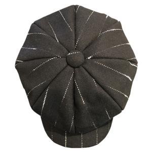 Shooting Star Tweed Herringbone Big Casquette BLK  SVY-HT106★SAVOY CLOTHING★ハット|beatswing