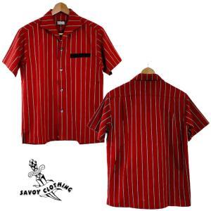 Regimental Stripe S/S Italian Shirts【SVY-SH301】★SAVOY CLOTHING★シャツ|beatswing