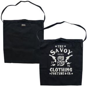 20th Logo Canvas 2Way Bag SVY-BG043★SAVOY CLOTHING★バッグ beatswing