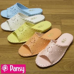 Pansy パンジー 9502(レディース)婦人用室内履きギフト プレゼント|beau-p