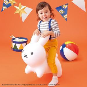 ミッフィーでおなじみのディック・ブルーナ のウサギが、可愛いバルーン遊具になりました☆☆☆  乗って...