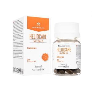 ヘリオケア  ウルトラDカプセル 30錠 Heliocare Ultra-D 飲む日焼け止め  カン...