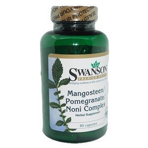Swanson スワンソン  マンゴスチン・ポメグラネート・ノニコンプレックス90錠 1本 海外直送...