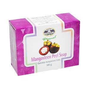 マンゴスチンピールソープ 12個 1個 100g   「マンゴスチン」100%天然成分の石鹸  海外...