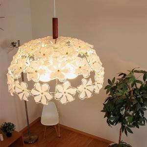 お花のシャンデリア ペンダントライト ブルーム Bloom 3灯 GEM-6893 天井照明 姫家具 ダイニング リビング インテリア照明 電球色|beaubelle