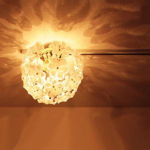 お花のシャンデリア シーリングライト ブルーム Bloom 3灯 GEM-6894 天井照明 姫家具 ダイニング リビング インテリア照明 電球色|beaubelle