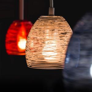 ペンダントライト ガラス 1灯 たまゆら Tamauyra おしゃれ 間接照明 照明器具 天井照明 led 対応 ダクトレール アンティーク 階段