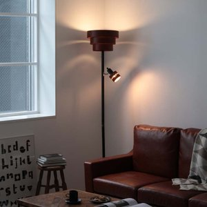 フロアライト 2灯 LEDA UPPER (レダ アッパー) スタンドライト アッパーライト 北欧 インテリア LED対応 beaubelle