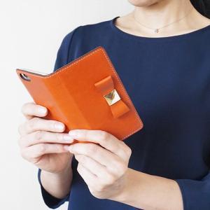 栃木レザー スマホケース GALAXY S10 S10+ S9 S8 ギャラクシー Note10 Note9 SC-03L SC-04L SCV45 リボン 手帳型 ケース 本革 レザー ベルトなし|beaute-shop|19