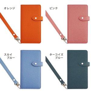 GALAXY S10 S10+ S9 S8 Note9 ギャラクシー SC-03L SC-04L SCV45 スマホケース 手帳型 ケース 本革 レザー サフィアーノレザー ベルト付き|beaute-shop|05