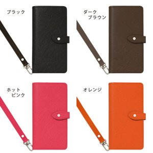 GALAXY S10 ギャラクシー SC-03L SC-04L SCV41 SCV42 手帳型ケース インナーカードケース Note9 Note8 スマホケース 本革 サフィアーノレザー ベルト付き|beaute-shop|03