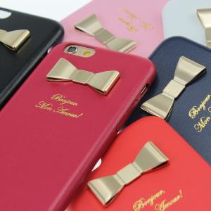 【生産終了セール】【半額】 iPhone スマホケース ハードケース iPhone6s 6 Plus iPhone5s iPhoneSE iPhone5 SE iPhoneケース リボン 【在庫限り】|beaute-shop