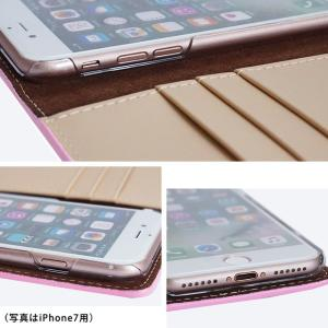 iPhone11 Pro iPhoneXR iPhoneXS XSMax X iPhone8 8Plus iPhone7 iPhoneケース 手帳型 スマホケース クロコダイル ラメ フラワー エナメルレザー ベルトなし|beaute-shop|11