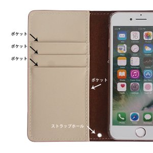 iPhone11 Pro iPhoneXR iPhoneXS XSMax X iPhone8 8Plus iPhone7 iPhoneケース 手帳型 スマホケース クロコダイル ラメ フラワー エナメルレザー ベルトなし|beaute-shop|13