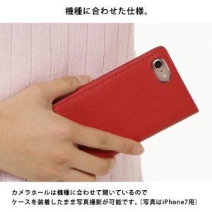 iPhoneXR iPhoneXS XSMax X iPhone8 iPhone7 iPhone6 Plus サフィアーノレザー スワロフスキー くまモン ゆるキャラ 熊本 手帳型 スマホケース ベルトなし|beaute-shop|10