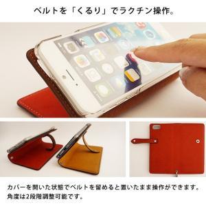 iPhone11 iPhone SE2 iPhone8 iPhone7 iPhoneXR ケース iPhoneケース アイフォンケース 手帳型 スマホケース レザー 本革 イタリアンレザー プエブロ ベルト付き|beaute-shop|10