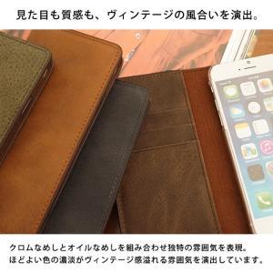 iPhone11 Pro iPhoneXR iPhoneXS XSMax X iPhone8 8Plus iPhone7 iPhoneケース アイフォンケース 手帳型 スマホケース レザー 本革 ヴィンテージ|beaute-shop|05