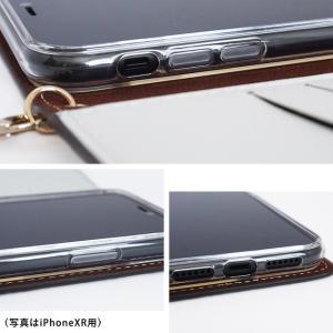 iPhone11 Pro iPhoneXR iPhoneXS XSMax X iPhone8 Plus 花柄 フラワー リバティ コットン 手帳型 スマホケース ハイブリットレザー タッセル付き ベルトなし|beaute-shop|16