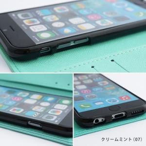 【ネコポス送料無料】 iPhone11 Pro iPhoneXR iPhoneXS XSMax X iPhone8 8Plus iPhone7 アイフォンケース 手帳型 スマホケース サフィアーノ ベルトなし beaute-shop 05