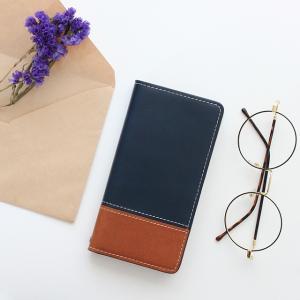 シムフリー ケース HUAWEI ASUS ZenFone HTC NEXUS 楽天モバイル スマホケース 手帳型 本革 オイルプルアップ レザー ツートンカラー バイカラー ベルトなし|beaute-shop|11