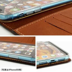 シムフリー ケース HUAWEI ASUS ZenFone HTC NEXUS 楽天モバイル スマホケース 手帳型 本革 オイルプルアップ レザー ツートンカラー バイカラー ベルトなし|beaute-shop|06