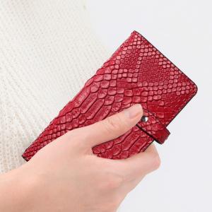 シムフリー ケース HUAWEI ASUS ZenFone HTC NEXUS 楽天モバイル スマホケース 手帳型 ヘビ柄 スネーク ベルト付き|beaute-shop|14