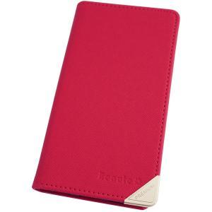 アウトレット 半額以下 ギャラクシー スマホケース GALAXY J SC-02F スマホカバー 手帳型 オリジナル セール 特別価格 ホットピンク beaute-shop