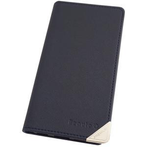 アウトレット 半額以下 アクオスフォン ゼータ スマホケース AQUOS ZETA SH-01G スマホカバー 手帳型 オリジナル セール 特別価格 ネイビー|beaute-shop