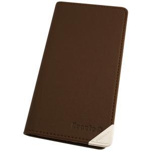 アウトレット 半額以下 アクオス コンパクト スマホケース AQUOS compact SH-02H スマホカバー 手帳型 オリジナル セール 特別価格 ダークブラウン|beaute-shop