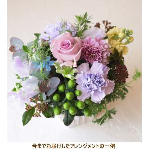 花 ギフト プレゼント 誕生日 結婚 記念日 お見舞い 開店 新築 お祝い 季節の花 フラワー アレンジメント ブルー 画像配信 beb