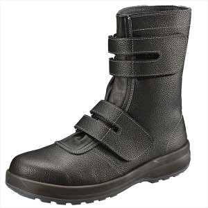 SIMON・シモン 安全靴 マジック式長靴 SS38黒 26.0cm 1823560