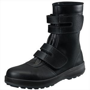 シモン 安全靴 マジック式長靴 WS38黒26.0cm 1700330