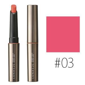 カネボウ ルナソル (#03)シアーアクアスティックリップス #Energy Pink 1.5g(W_15)|beauty-land