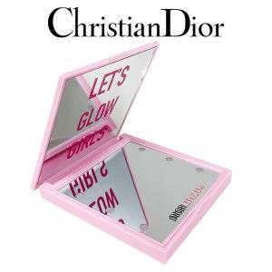 クリスチャンディオール LEDライト付き ピンクミラー(001) 1PC(W_69)|beauty-land