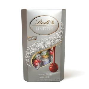 リンツ リンドール シルバー アソートチョコレート 600g 4種類 Lindt LINDOR Silver Assortの商品画像 ナビ