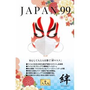 JAPAN99-絆マスク ウイルス対策 特殊ドロマイトフィルター 5層構造 特殊個包装 備蓄15年間保証 VFE99%以上 3M N95マスクより更に進化 日本製【数量限定商品】 beauty-square