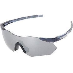 SWANS(スワンズ) スポーツサングラス ガルウィング 復刻版 GU-0701 SMK 自転車 ゴルフ ボールスポーツ ミラーレンズ シル beautydawn
