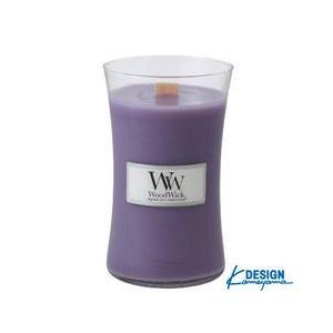 カメヤマ KAMEYAMA ウッドウィック ジャーL ラベンダー WOOD WICK JAR L|beautyfactory