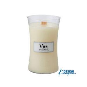 カメヤマ KAMEYAMA ウッドウィック ジャーL リネン WOOD WICK JAR L|beautyfactory