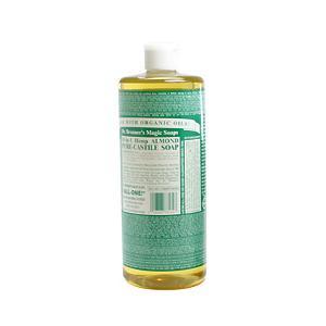 ドクター ブロナー DR BRONNER マジックソープ #アーモンド 944ml 化粧品 コスメ MAGIC SOAPS 18 IN 1 HEMP ALMOND PURE CASTILE SOAP beautyfactory