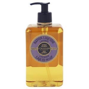 ロクシタン L OCCITANE シア リキッド ソープ ラベンダー 500ml 化粧品 コスメ LAVENDER LIQUID SOAP|beautyfactory