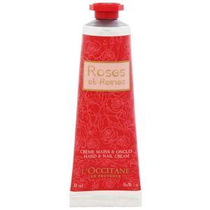 ロクシタン L OCCITANE ローズ ベルベット ハンド&ネイル クリーム 30ml 化粧品 コスメ ROSES ET REINES HAND & NAIL CREAM|beautyfactory