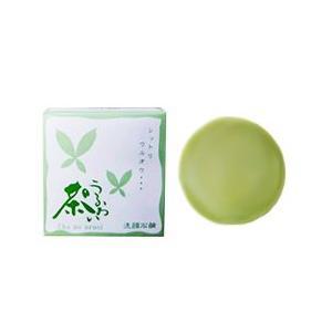 熊野油脂 KUMANO YUSHI 茶のうるおい 洗顔 石鹸 100g 化粧品 コスメ CHA NO URUOI SOAP|beautyfactory