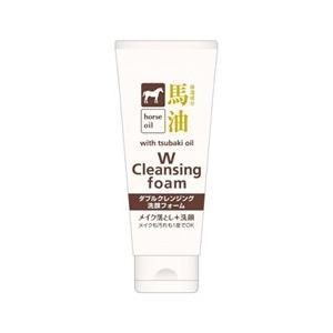TKコーポレーション TK CORPORATION 馬油ダブルクレンジング洗顔フォーム 130g 化粧品 コスメ|beautyfactory