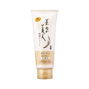 (最大500円OFFクーポン 11/30 23:00まで)日本盛 NIHON SAKARI 米ぬか美人 洗顔クリーム 100g 化粧品 コスメ KOMENUKA BIJIN CLEANSING FOAM|beautyfactory